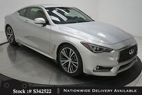 INFINITI Q60 3.0t LUXE NAV,CAM,SUNROOF,HTD STS,19IN WHLS 2018