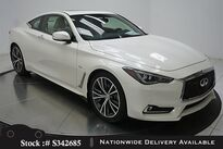 INFINITI Q60 3.0t LUXE NAV,CAM,SUNROOF,HTD STS,KEY-GO,19IN WHLS 2018