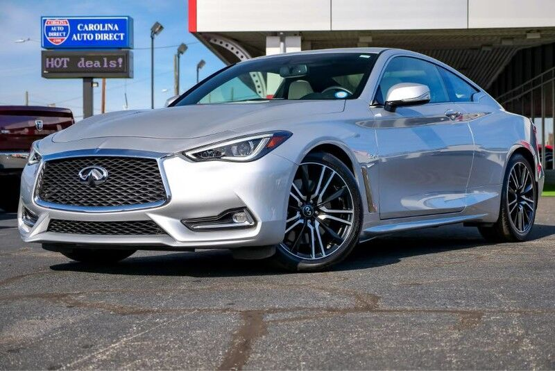 2018 INFINITI Q60 SPORT Twin Turbo w/ Heated Front Seats, Remote Start + Navigation Mooresville NC