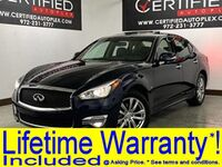 INFINITI Q70 3.7 LUXE AWD NAVIGATION SUNROOF HEATED COOLED LEATHER SEATS SURROUND VIEW C 2018