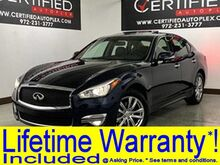 2018_INFINITI_Q70_3.7 LUXE AWD NAVIGATION SUNROOF HEATED COOLED LEATHER SEATS SURROUND VIEW C_ Carrollton TX