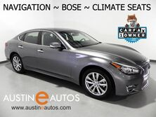 INFINITI Q70 3.7 LUXE *NAVIGATION, SURROUND CAMERAS, CLIMATE SEATS, HEATED STEERING WHEEL, MOONROOF, BOSE AUDIO, BLUETOOTH 2018