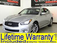 INFINITI Q70 NAVIGATION SUNROOF AROUND VIEW CAMERA PARK ASSIST HEATED COOLED LEATHER SEA 2018