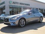 2018 Infiniti Q50 2.0t LUXE PREMIUM 2.0T PKG,BACK UP CAMERA,NAVIGATION SYSTEM,SUNROOF,UNDER FACTORY WARRANTY!