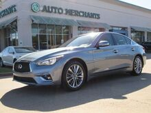 2018_Infiniti_Q50_2.0t LUXE PREMIUM 2.0T PKG,BACK UP CAMERA,NAVIGATION SYSTEM,SUNROOF,UNDER FACTORY WARRANTY!_ Plano TX