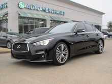 2018_Infiniti_Q50_3.0t Sport  AUTOMATIC, LEATHER SEATS, NAVIGATION SYSTEM, SUNROOF_ Plano TX