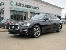 2018_Infiniti_Q50_3.0t Sport  LEATHER SEATS, NAVIGATION SYSTEM, SUNROOF, SATELLITE RADIO_ Plano TX