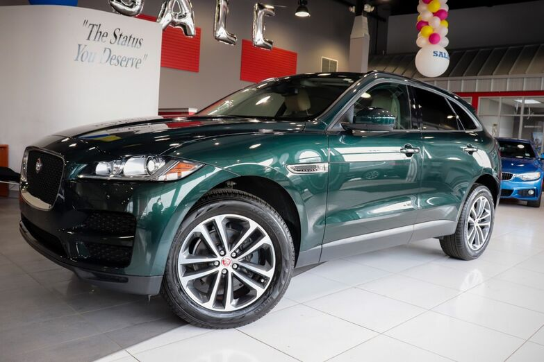 2018 Jaguar F-PACE 25t Premium 19 Inch Wheels Vision Package Navigation Springfield NJ