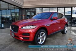 2018_Jaguar_F-PACE_25t Premium / AWD / Front & Rear Heated Leather Seats / Heated Steering Wheel / Sunroof / Meridian Speakers / Bluetooth / Back Up Camera / 27 MPG / 34K Miles / 1-Owner_ Anchorage AK