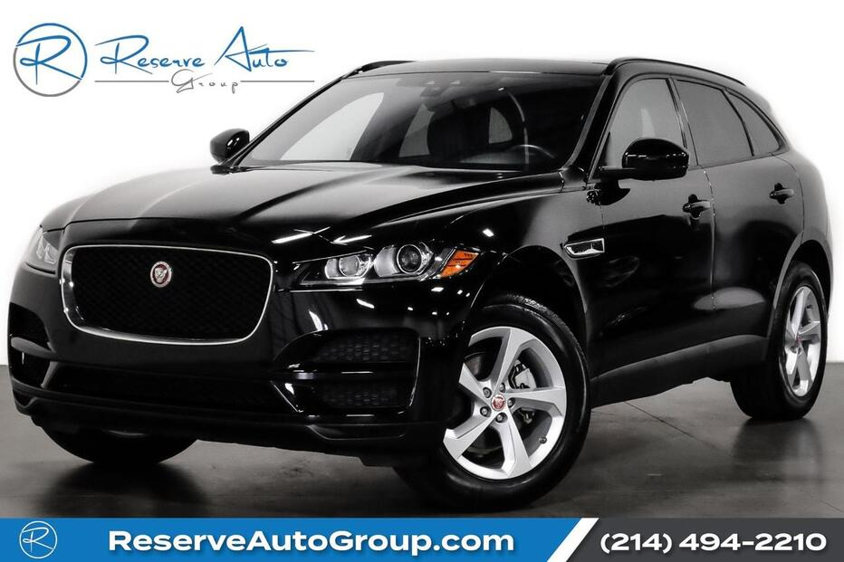 2018_Jaguar_F-PACE_25t Premium Cold Climate Pkg Vision Pkg Navigation_ The Colony TX