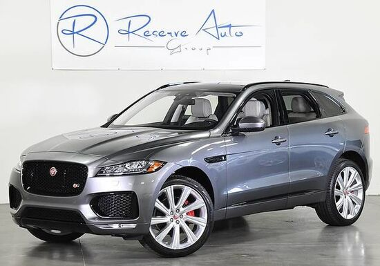 2018_Jaguar_F-PACE_S AWD SuperCharged Comfort Pkg We Finance_ The Colony TX