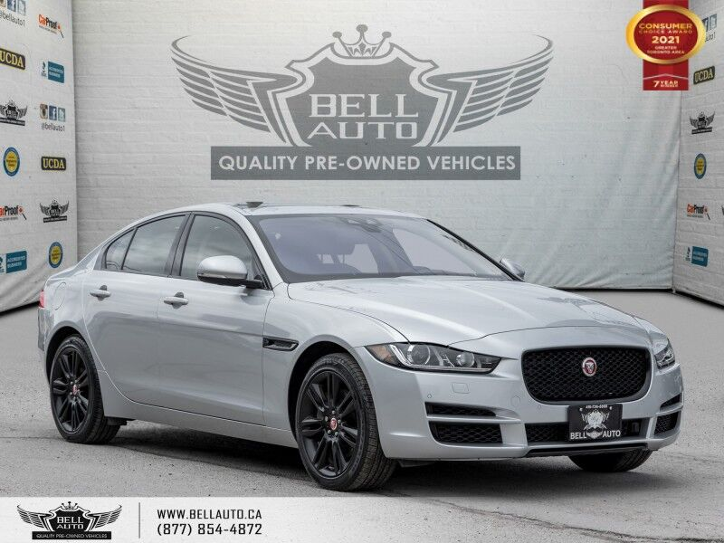 2018 Jaguar XE Prestige, AWD, NAVI, REAR CAM, SUNROOF, B.SPOT, RED STITCHES Toronto ON