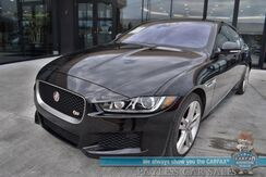 2018_Jaguar_XE_S / AWD / Supercharged / Heated & Cooled Leather Seats / Heated Steering Wheel / Meridian Speakers / Navigation / Sunroof / Blind Spot Alert / Bluetooth / Back Up Camera / Only 15k Miles / 1-Owner_ Anchorage AK