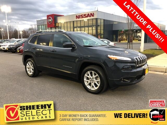 2018 Jeep Cherokee Latitude Plus White Marsh MD