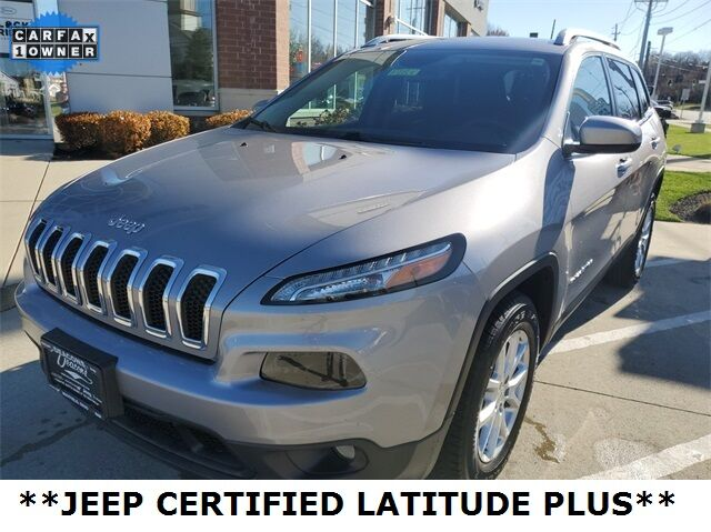2018 Jeep Cherokee Latitude Plus Mayfield Village OH
