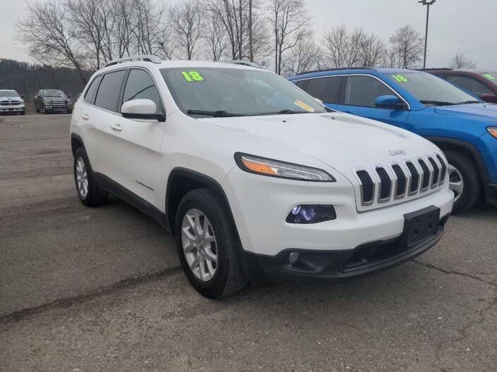 2018 Jeep Cherokee Latitude Plus Owego NY