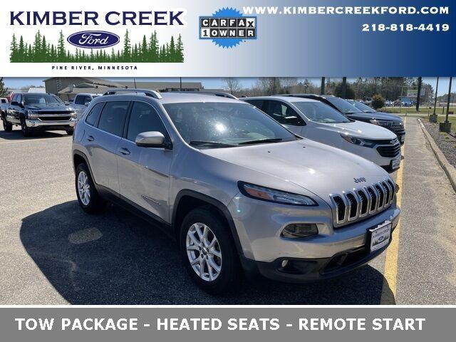 2018 Jeep Cherokee Latitude Plus Pine River MN