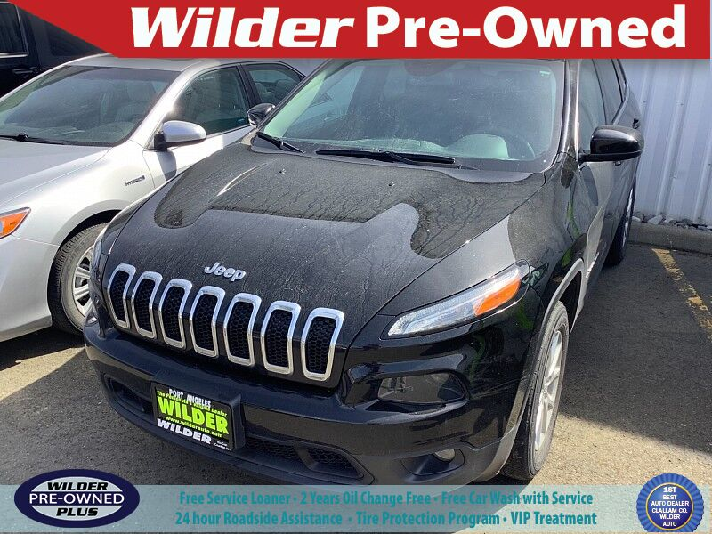2018 Jeep Cherokee Latitude Plus Port Angeles WA