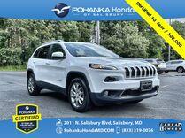 2018 Jeep Cherokee Limited 4WD ** Pohanka Certified 10 Year / 100,000 **