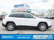2018_Jeep_Cherokee_Limited 4x4, LOW KMS! Pano Sunroof, Remote Start, Heated/Cooled Leather_ Calgary AB