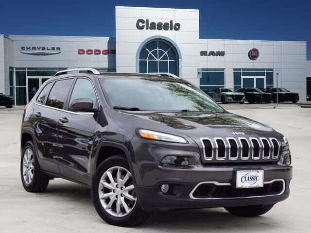 2018 Jeep Cherokee Limited Arlington TX