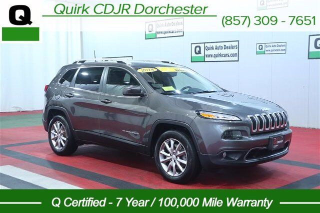 2018 Jeep Cherokee Limited Boston MA