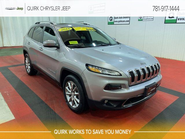 2018 Jeep Cherokee Limited Braintree MA