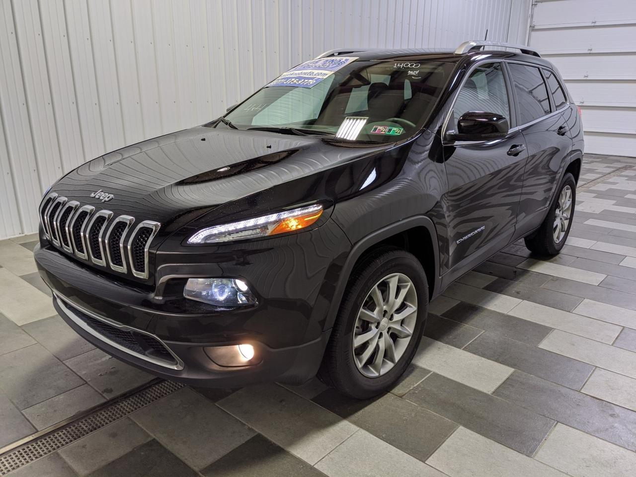 2018 Jeep Cherokee Limited Duncansville PA