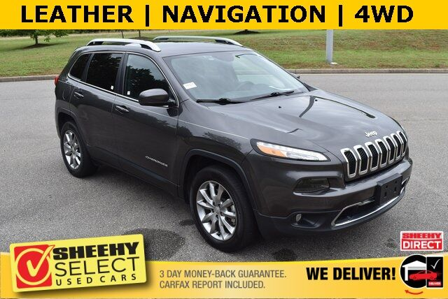 2018 Jeep Cherokee Limited Ashland VA