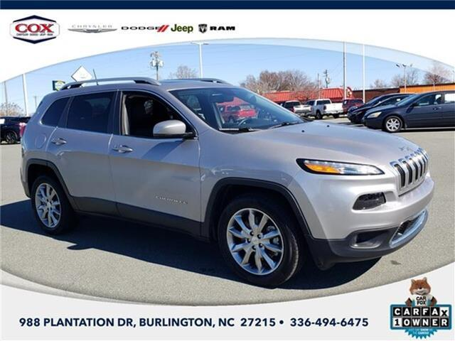 2018 Jeep Cherokee Limited Front-wheel Drive Burlington NC