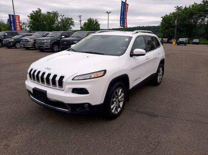 2018 Jeep Cherokee Limited Owego NY