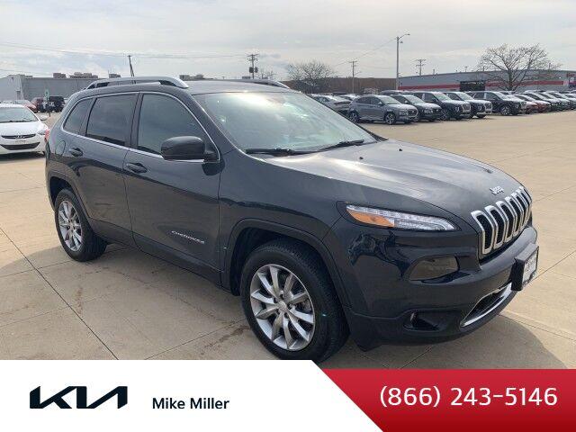 2018 Jeep Cherokee Limited Peoria IL