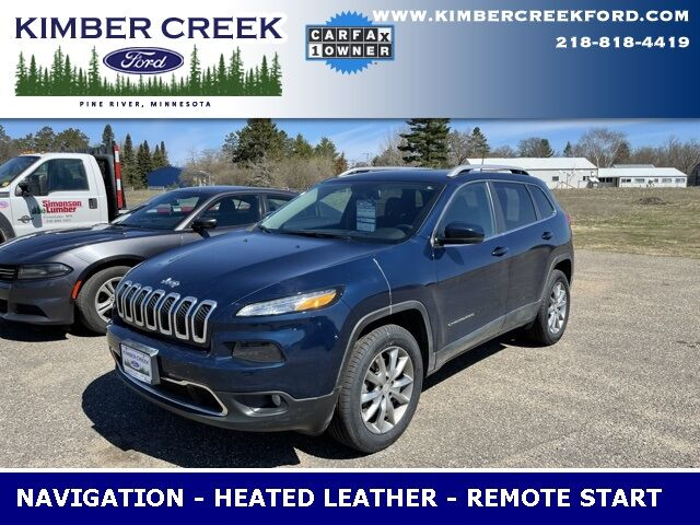 2018 Jeep Cherokee Limited Pine River MN