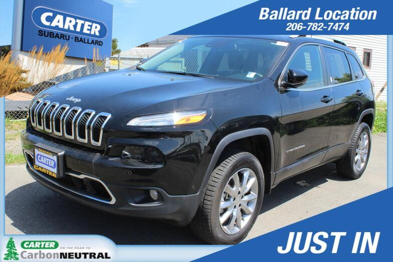 2018 Jeep Cherokee Limited Seattle WA