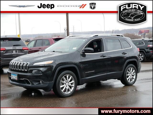 2018 Jeep Cherokee Limited St. Paul MN