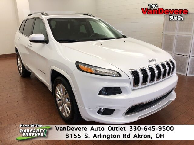 2018 Jeep Cherokee Overland Akron OH