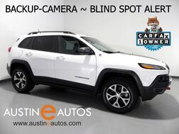 2018_Jeep_Cherokee Trailhawk 4X4_*BACKUP-CAMERA, BLIND SPORT ALERT, TOUCH SCREEN, PARK SENSORS, ALLOY WHEELS, BLUETOOTH PHONE & AUDIO_ Round Rock TX