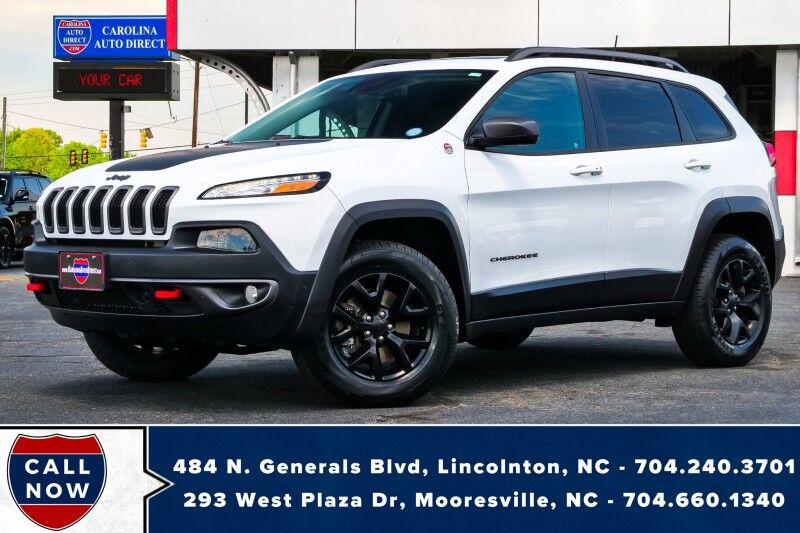 2018 Jeep Cherokee Trailhawk L Plus 4X4 w/ Heated & Vented Front Seats *NEW TIRES* Mooresville NC