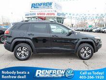 2018_Jeep_Cherokee_Trailhawk Leather Plus 4x4, Pano Sunroof, Heated/Cooled Leather,_ Calgary AB