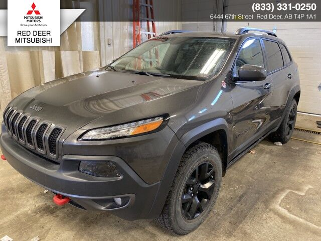 2018 Jeep Cherokee Trailhawk Leather Plus Red Deer County AB