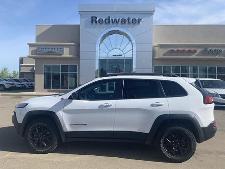 2018 Jeep Cherokee Trailhawk Leather Plus Redwater AB