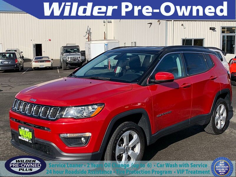 2018 Jeep Compass 4d SUV 4WD Latitude Port Angeles WA