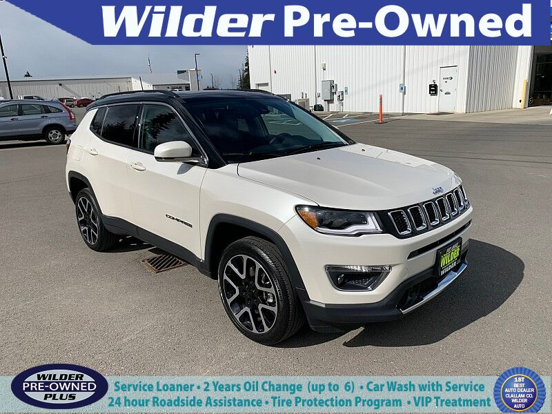 2018 Jeep Compass 4d SUV 4WD Limited Port Angeles WA