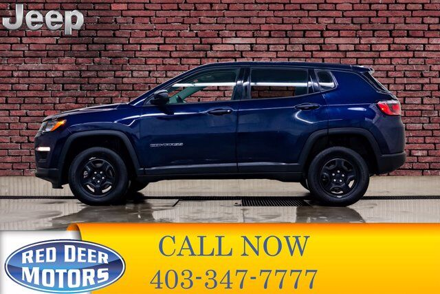 2018 Jeep Compass 4x4 Sport BCam Red Deer AB