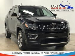 2018_Jeep_Compass_LIMITED 4WD NAVIGATION LEATHER HEATED SEATS REAR CAMERA KEYLESS START BLUETOOTH_ Carrollton TX