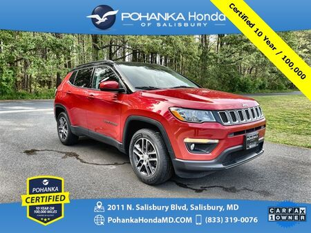 2018_Jeep_Compass_Latitude ** Pohanka Certified 10 Year / 100,000 **_ Salisbury MD