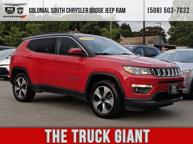 2018 Jeep Compass Latitude 4x4 Dartmouth MA