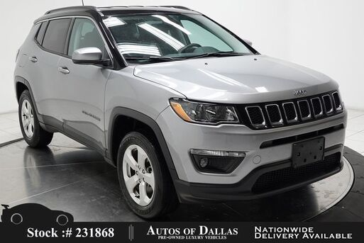 2018_Jeep_Compass_Latitude BACK-UP CAMERA,KEY-GO,17IN WHLS_ Plano TX
