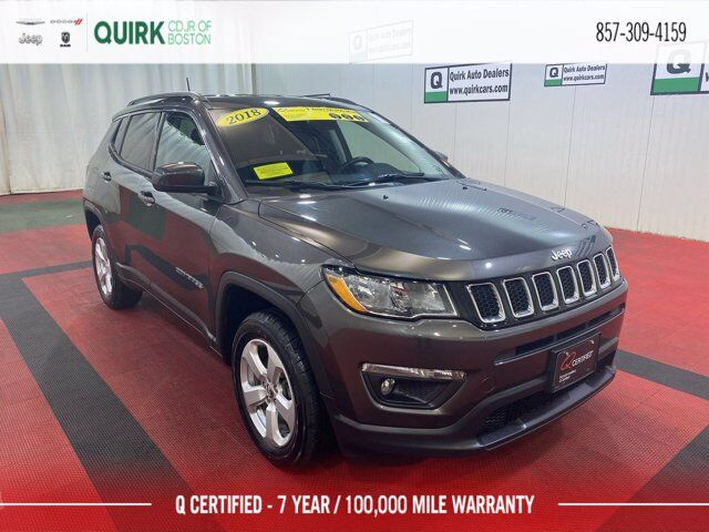 2018 Jeep Compass Latitude Boston MA