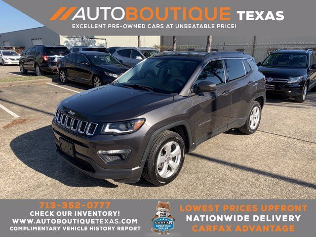 2018 Jeep Compass Latitude Houston TX